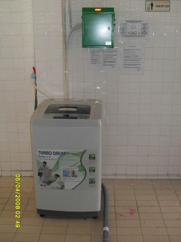 mesin dobi mesra pengguna