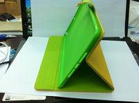 Inner Alunium hard back Cover for iPad Mini & Leather book shell for iPad mini