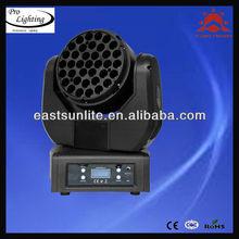 2013 high power 37pcs 3w led yoke beam moving head lighting disco