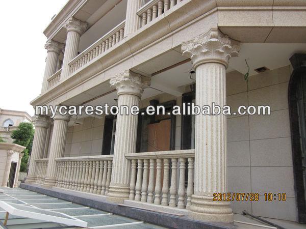 Outdoor Decorative White Stone Columns Buy White Stone
