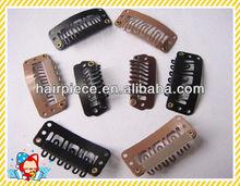 korean keratin hair extension clip/snap clip/sy hair extension tool