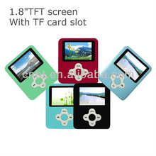 Best selling 1.8 inch superior mp4 player with memory card
