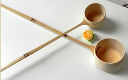 Bamboo water ladle for Japanese tea ceremoney