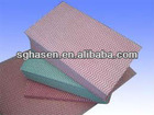 Chemical bond non woven cleaning wipe/dry/wet cleaning cloth