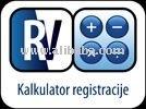 registracija vozila kalkulator