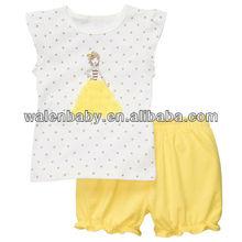 Cute Girls casual Panda Clothing set Summer