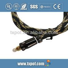Nylon braid Fiber-optic Digital Audio Optical Cable