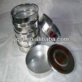 yongqing produzido mini round peneira de malha fina para laboratary testes de equipamentos de análise