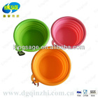 silicone collapsible bowl for dog bowl