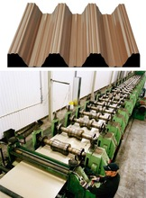 Corrugated Sheet Metal Production Line (used)