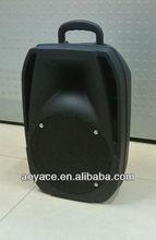 fm/usb/sd/mmc mini speaker with plastic body