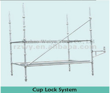 mobile construction layher cuplock scaffold for sale
