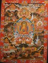 Buddha Thangka - High Quality Buddha Life History Tibetan Thangka Handmade in Nepal