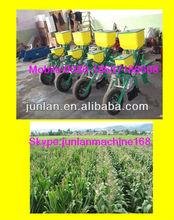 farm using machine for corn seed planter