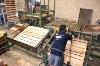 Semiautomatic machine to nail pallets