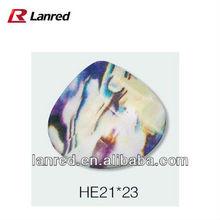 Triangle Acrylic Rhinestone Zipper Accessories #RE130804-226