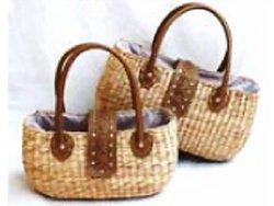 Water Hyacinth Woven Handbag