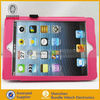 Hot !!! protection leather case cover for ipad, for mini ipad wallet flip pouch
