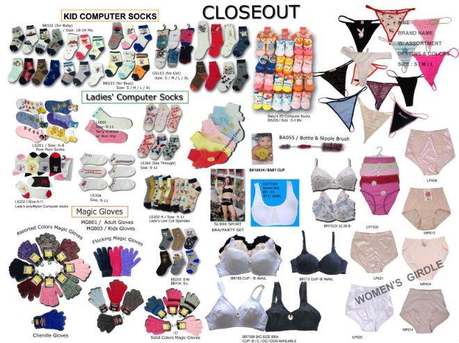catalog closeouts