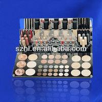Custom acrylic cosmetics countertop display stand store