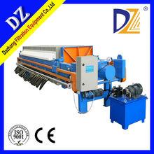 Automatic Membrane Filter Press for Sake