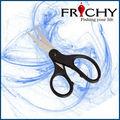 fs0101 açoinoxidável tesoura pesca super trançado de linha