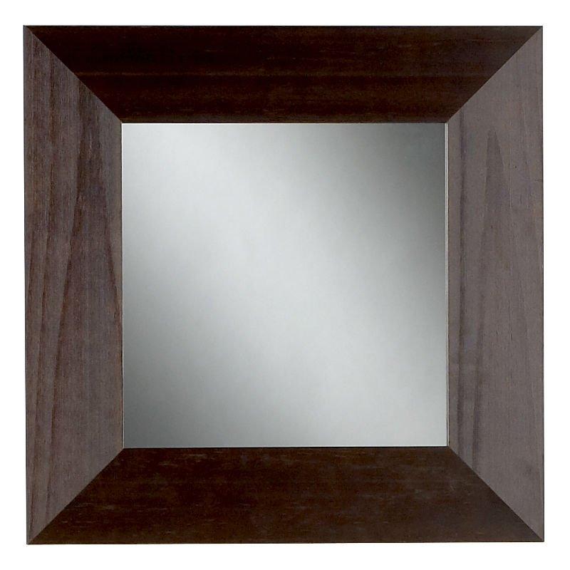 Ancho de chocolate marco del espejo espejos for Espejo marco ancho
