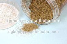 Glitter pink acrylic powder