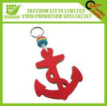Promotional Logo Designed EVA Floating Keychain