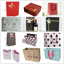 Customized nice and luxury art paper bag