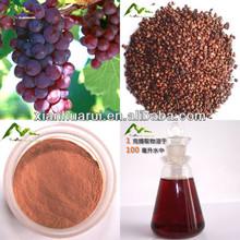 Antioxidante extrato de semente de uva suplemento