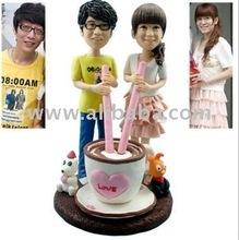 self customized polymer clay doll
