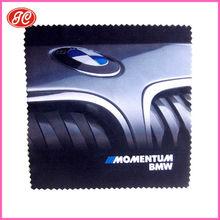 3M Custom Logo Print Microfiber Glasses Cleaning Cloth with car logo