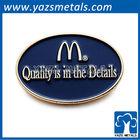 Beautiful mcdonald's pin badge/ custom metal mcdonald's pin badge