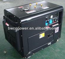 5kW Mini Honda Diesel Generator with Mobile Wheel