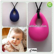 Food Grade Baby Teething Pendants/FDA Mom Chic Pendant Teething Kean Jewelry