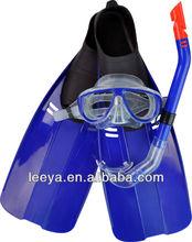 purge mask snorkel &fins swimming snorkeling sets