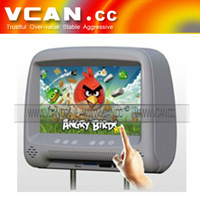 """OEM MP-900H 9"""" HD Google Android 4.0 touch screen 9"""" car pillow headrest monitor media player lcd display for all cars"""