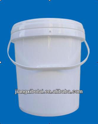 16l tambor de plástico branco e tambor/barril de água
