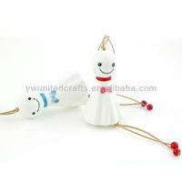 Lovely Hand-made Sunny Dolls Style Cartoon Ceramic Wind Bells