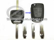 opel astra 3 button modified flip key case