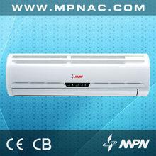 1.5ton 230v 60hz R410a SEER 13 cooling and heating split ac indoor unit