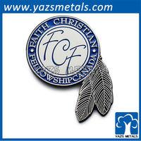 Custom faith christian followship canada pin