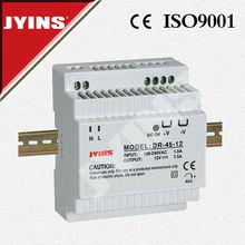 45W single DIN Rail 12v 3.5a power supply dc triple DR-45W