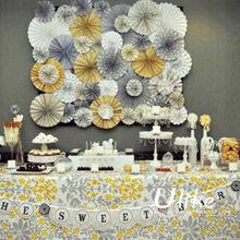 New Design Party Paper Wedding Cake Decoration Backdrop Wedding Decoration