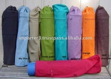 Cotton Yoga Bags/ Printed Yoga Bag/ Yoga Mat bag