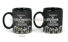 Jack Scary Face - Color Change Thermal Coffee Mug Halloween Gift Shenzhen Manufacturer