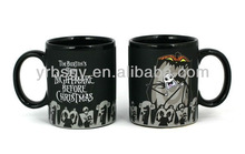 Food Safe Jack Scary Face - Color Change Thermal Coffee Mug Halloween Gift Shenzhen Factory