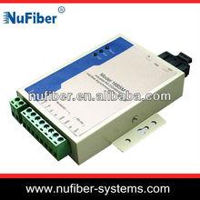 RS485/422/232 Serial to Fiber converter for data transmission