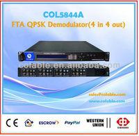 fta satellite receiver decoder,FTA digital dvb demodulator,fta receiver decoder COL5844A